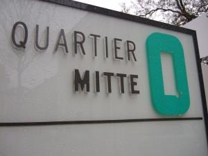 Das Logo von Quartier Mitte