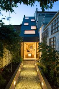 Das Haus in London ist ein Entwurf des Büros Alma-nac