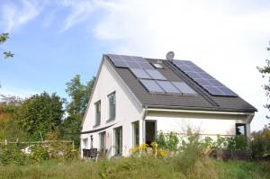 Das Holz Polz mit der Photovoltaikanlage im September 2014