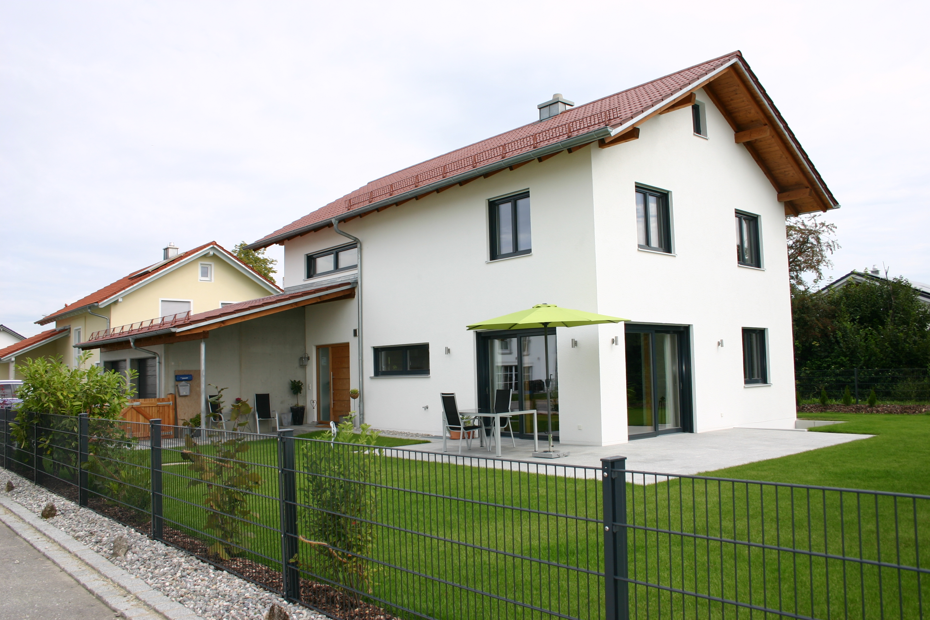 Architektur for Satteldach haus