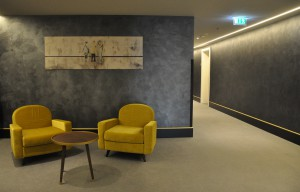Flur im Zimmertrakt des Falkensteiner Hotels Wien Margareten
