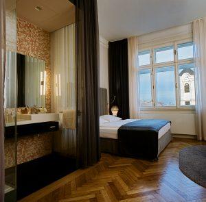 Hotelzimmer gestaltet von Polka