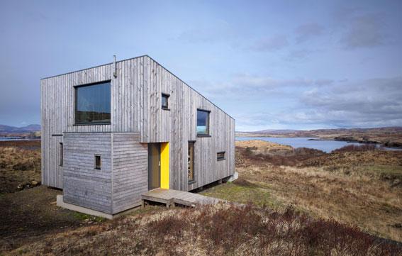 Das Hen House steht mitten in der wilden Landschaft der Isle of Skye
