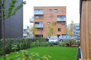 Der Woodcube, ein Projekt der IBA in Hamburg.