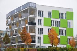 Das Haus namens Smart ist Grün in Hamburg