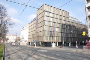 Die Fassade des Falkensteiner Hotels Wien Margareten