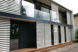 Fassade des Functionality-Hauses