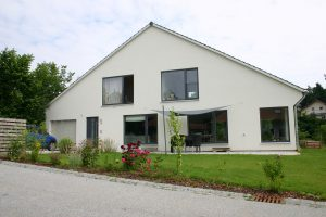 Fassadenansicht Haus Polz