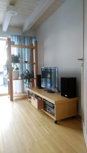 Blick ins Fernsehzimmer im Haus Polz