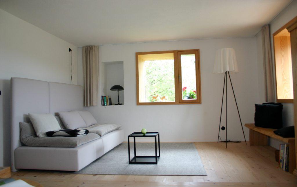 Wohnzimmer der Ferienwohnung Alte Liebe